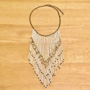 Jewelry - Beaded Boho Fringe Necklace